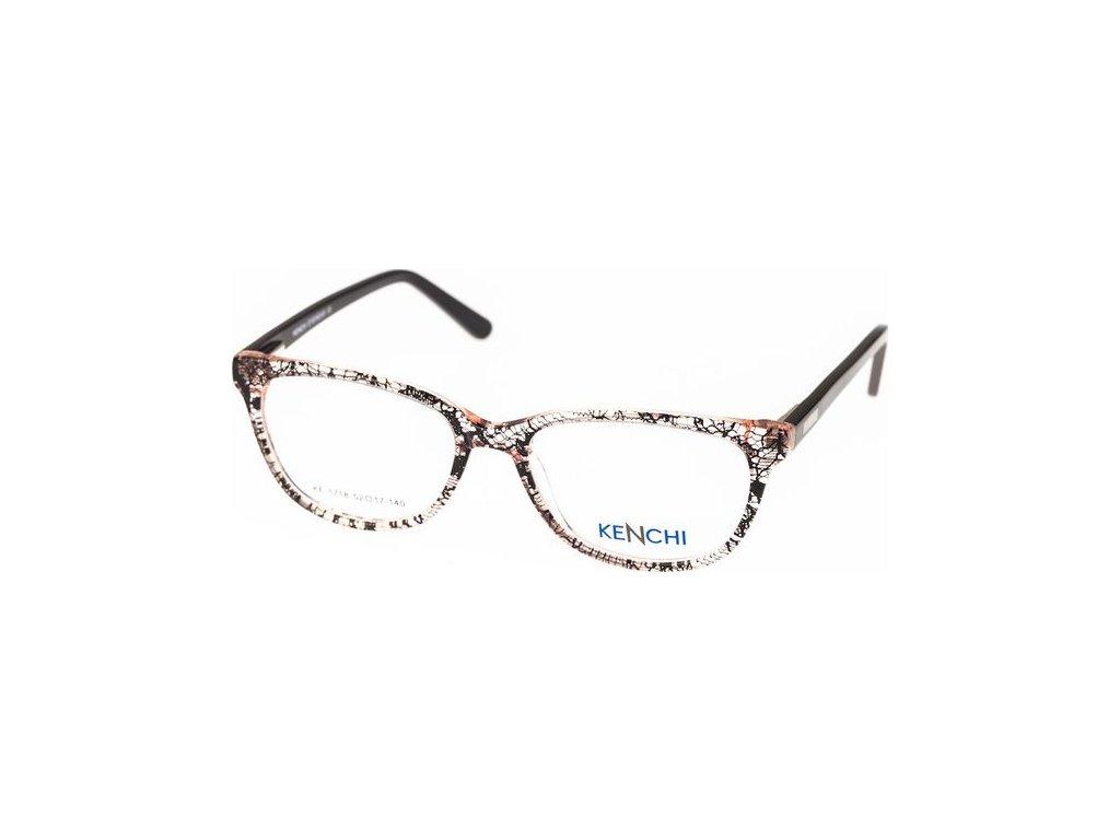 Kenchi 1718-C1 sv.růžová/černá