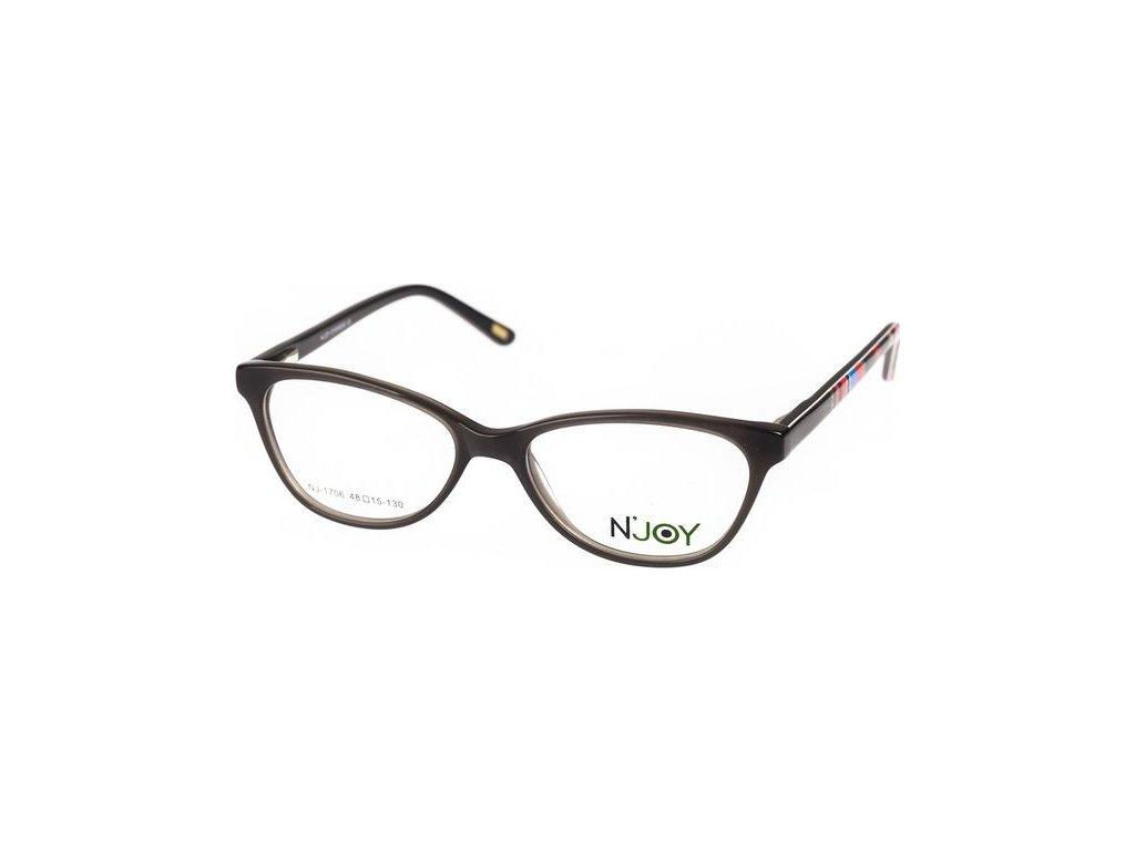 N-Joy 1706-C1 tm.šedá/černá