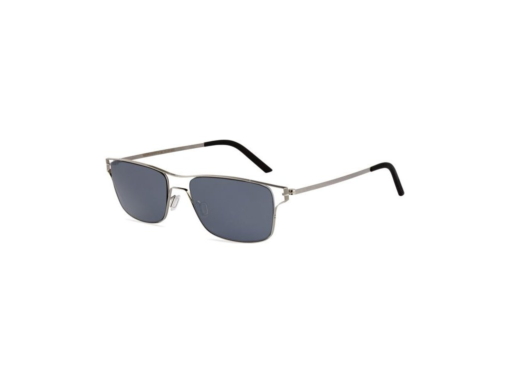 Minima Contour Sun K1-034A, Metal Brushed (AP-Gray/Flash Silver Polarized)