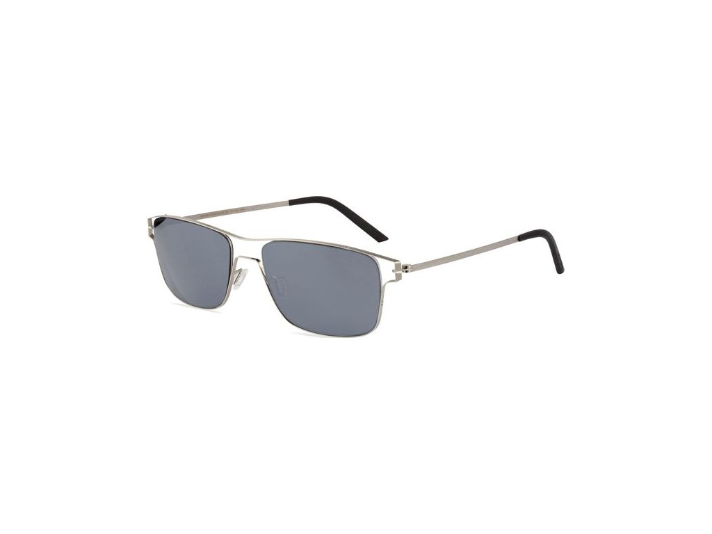 Minima Contour Sun K6-034A, Metal Brushed (A-Gray/Flash Silver Polarized)
