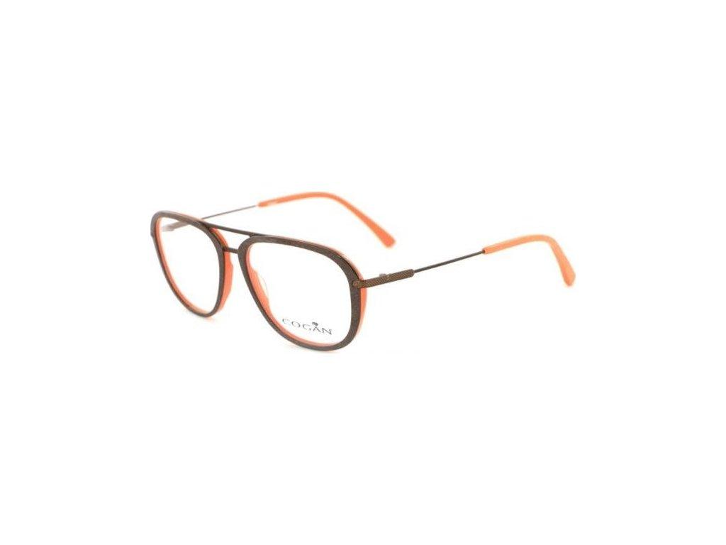 Cogan 2609-BRN (hnědá/oranžová)