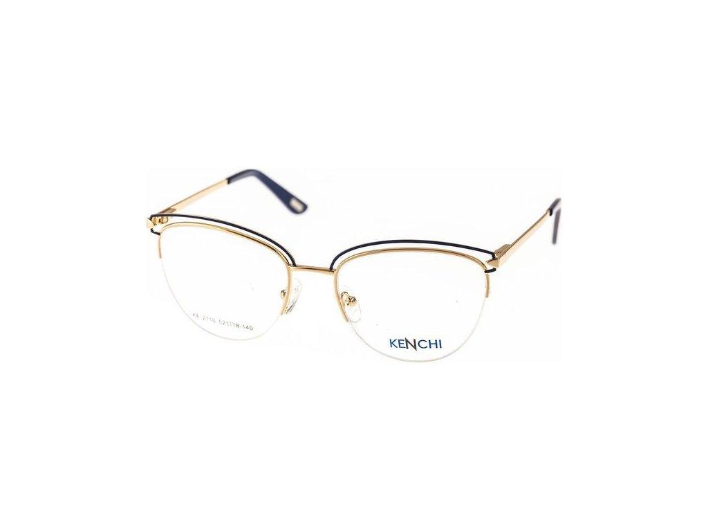 Kenchi 2110-C3 zlatá/tm.modrá