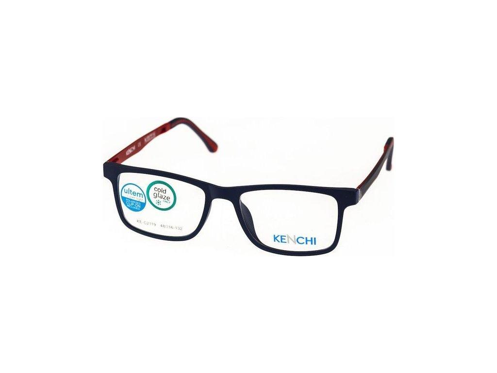 Kenchi C2119-C2 tm.modrá/tm.červená