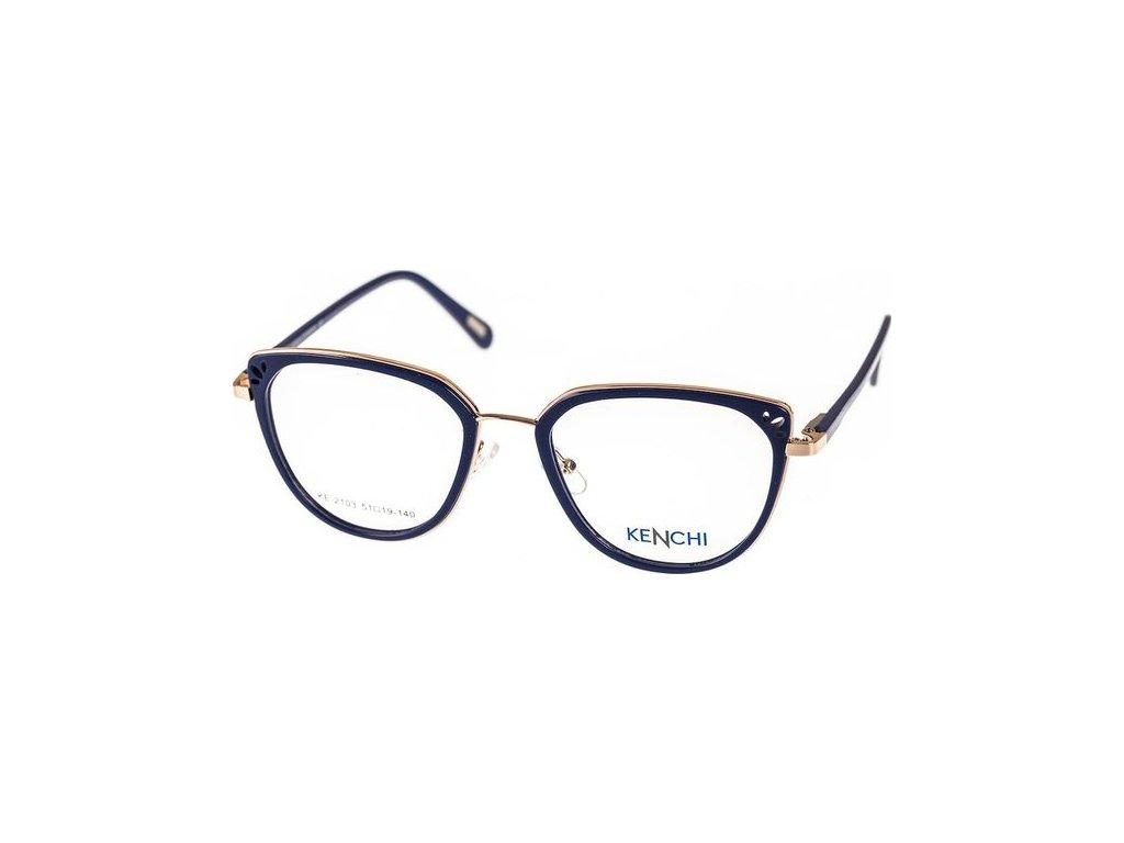 Kenchi 2103-C2 tm.modrá/bronzová