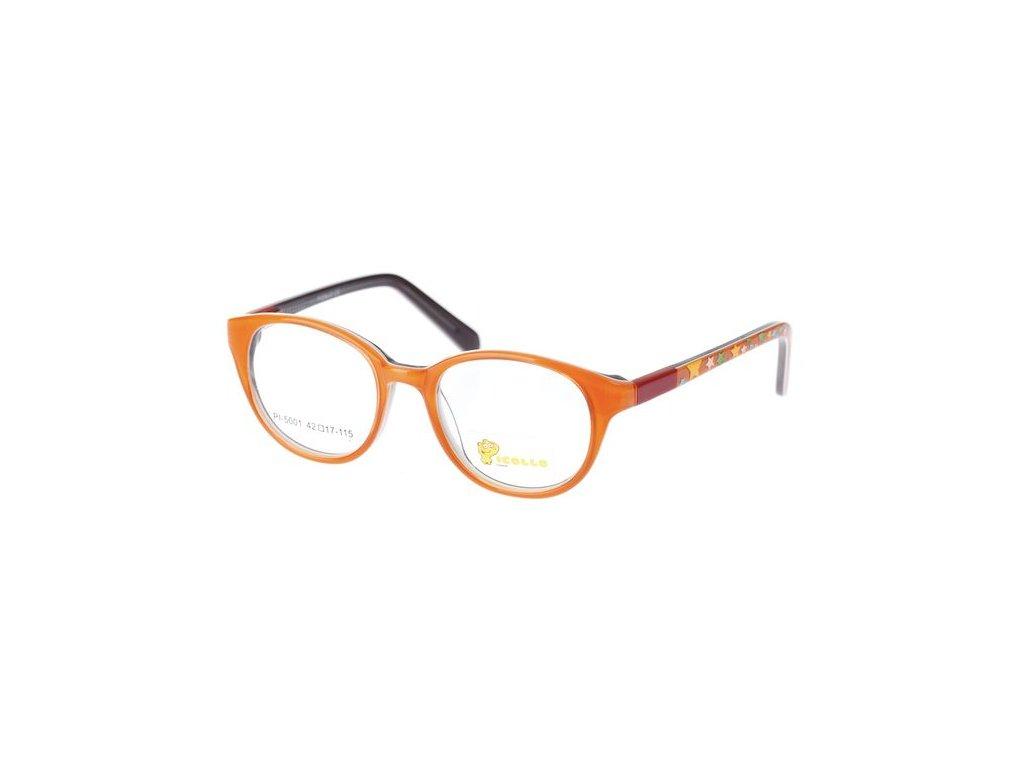 Picollo 5001-C1 oranžová/černá