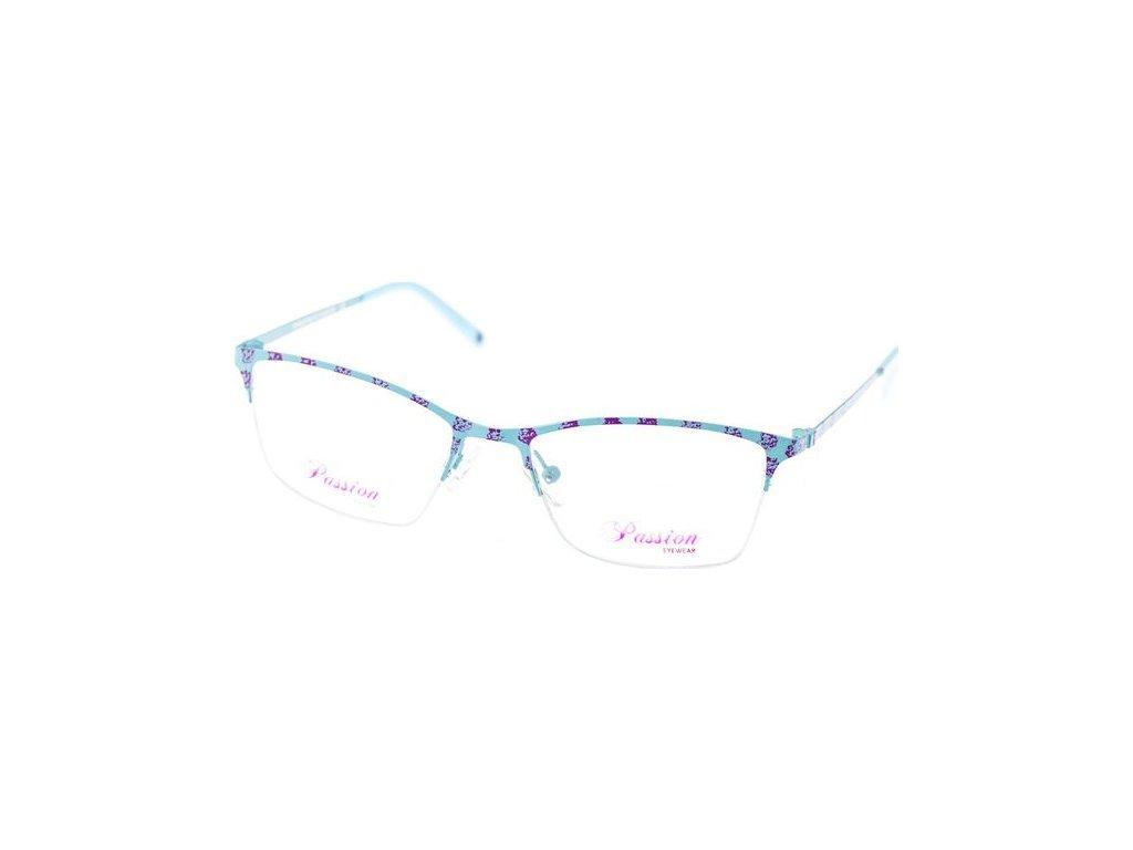 Passion 1402-C3 modrá/fialová