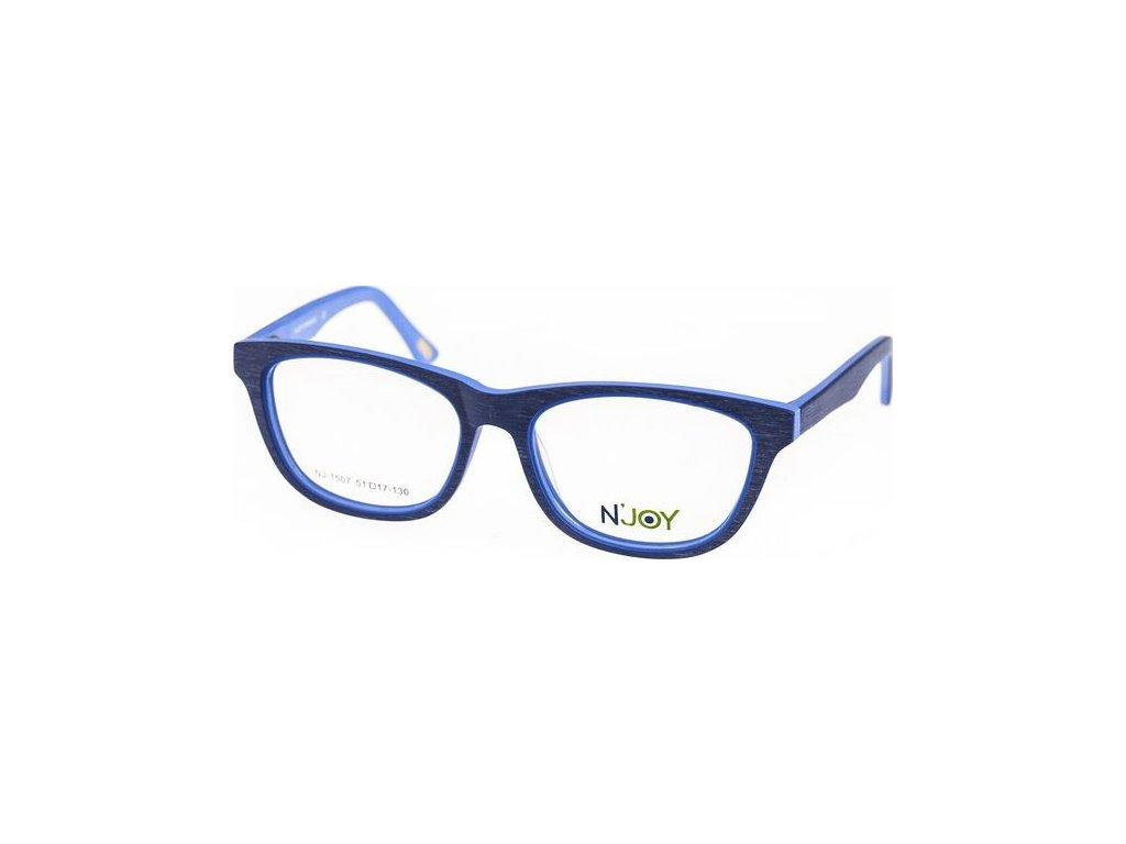 N-Joy 1507-3 modrá/sv.modrá