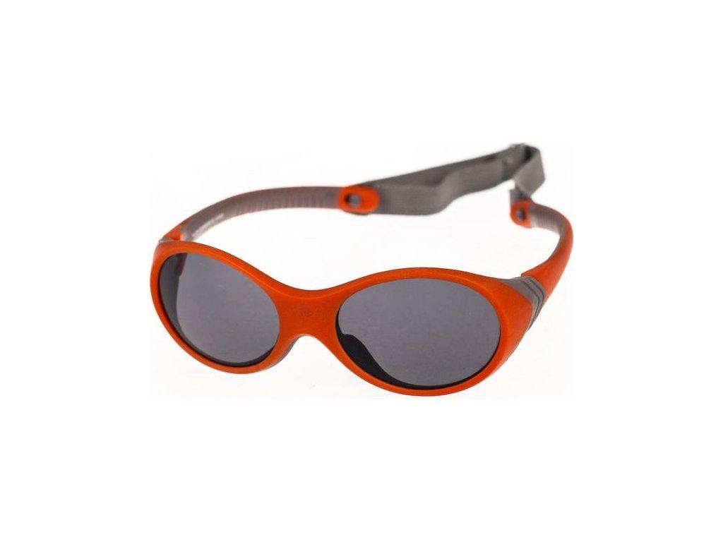 N-Joy S1604-1 oranžová/šedá