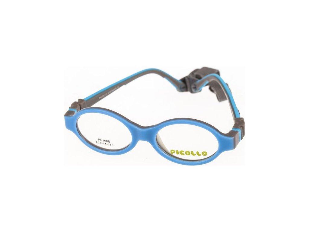 Picollo 1605-C3 světlá modrá/šedá