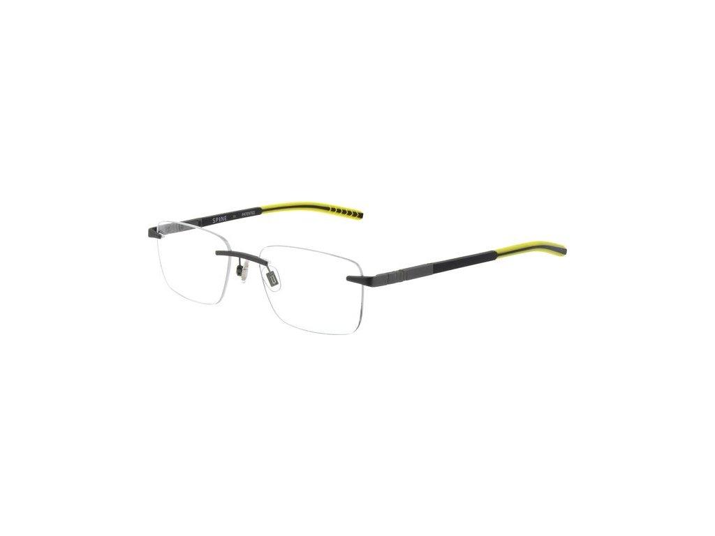 Spine SP2422-905 (tm.šedá/žlutá)