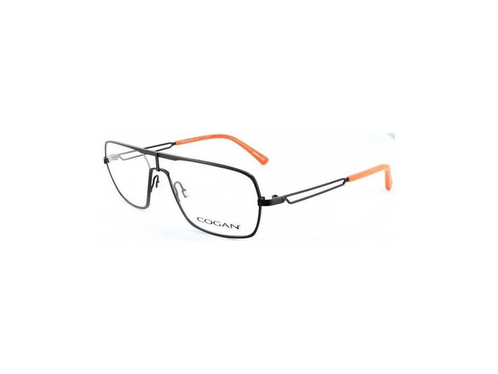 Cogan 2602-BRN (tm.hnědá/oranžová)