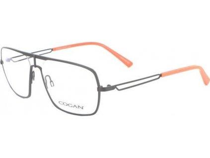 Cogan 2603-BRN (tm.hnědá/oranžová)