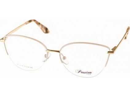 Passion 2218-C2 bílá/zlatá