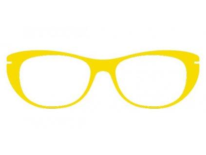 FaceCie nácvak CIE 110 CI (žlutá)