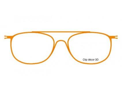 FaceCie nácvak CIE 131 JO (oranžová)