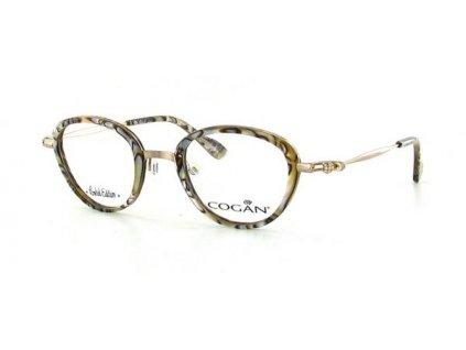 Cogan 2560-PRL-BRN (žíhaná/zlatá)