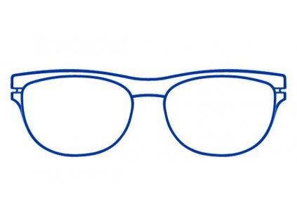 FaceCie nácvak CIE 162 BE (modrá)