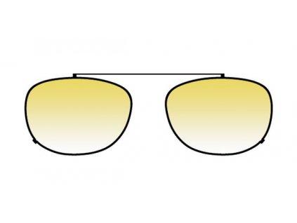 FaceCie sluneční nácvak CIE 1D MK OC (černá/žlutá)