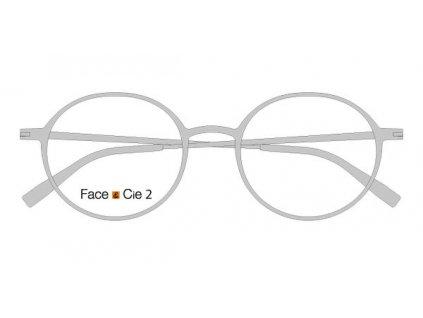 FaceCie FC 2M AS, základní obruba, (matná stříbrná)