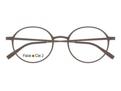 FaceCie FC 2M TP, základní obruba, (hnědá)