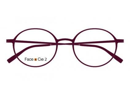 FaceCie FC 2M FI, základní obruba, (tm.fialová)