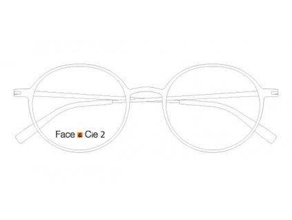 FaceCie FC 2M BL, základní obruba, (bílá)