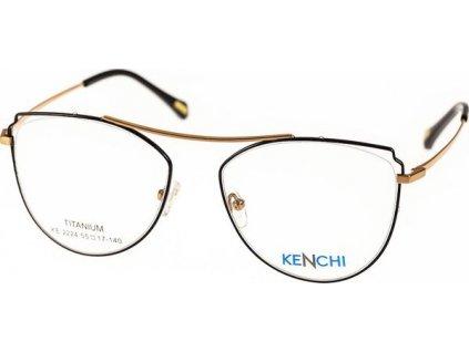 Kenchi 2224-C1 černá/bronzová