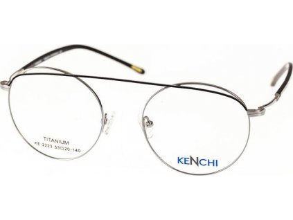 Kenchi 2223-C2 stříbrná/černá