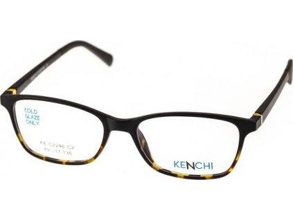 Kenchi C2246-C2 černá/havana (vč. 3ks slunečních klipů)
