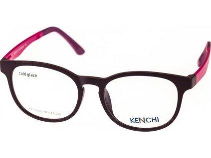 Kenchi C2235-C4 tm.fialová/růžová (vč. 1ks slunečního klipu)