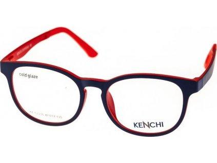 Kenchi C2235-C2 tm.modrá/červená (vč. 1ks slunečního klipu)