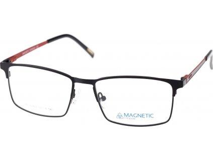 Magnetic C2402-3 černá/červená (vč. 2ks slunečních klipů)