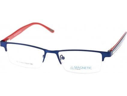 Magnetic C2406-2tm.modrá/černá (vč. 2ks slunečních klipů)