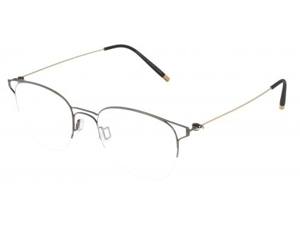Minima Evo 1 EN1-9920, Shiny Dark Gray/Shiny Gold