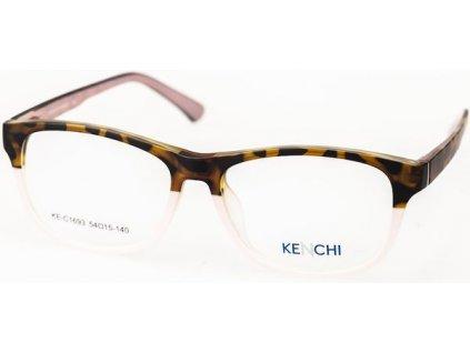 Kenchi C1693-C3 havana/růžová