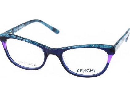 Kenchi 1729-C4 tm.modrá/modrá