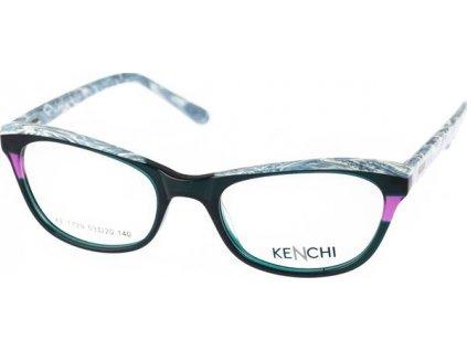 Kenchi 1729-C2 tm.zelená/sv.modrá