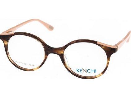 Kenchi 1715-C1 havana/sv.růžová