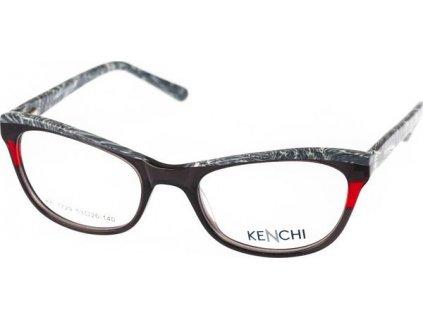 Kenchi 1729-C1 hnědá/šedá