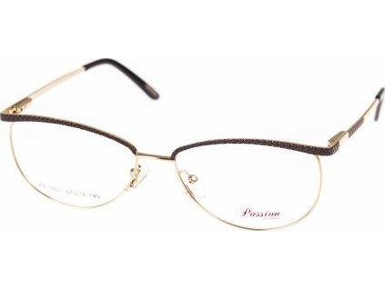 Passion 1801-C1 hnědá/zlatá