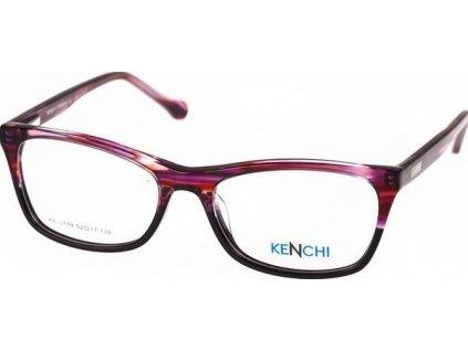 Kenchi 1719-C1 tm.červená/černá
