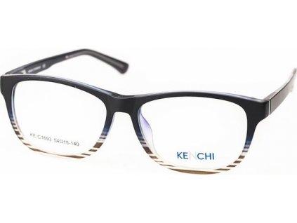 Kenchi C1693-C1 černá/šedá (vč. 3ks slunečních klipů)