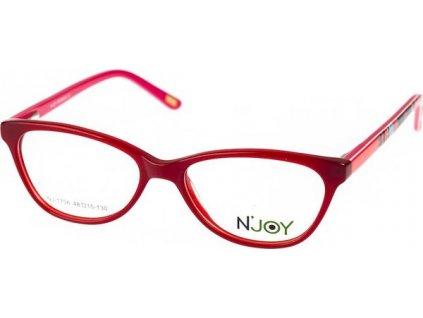 N-Joy 1706-C2 červená/růžová