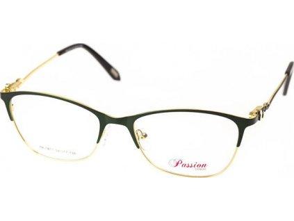 Passion 1817-C3 zelená/zlatá