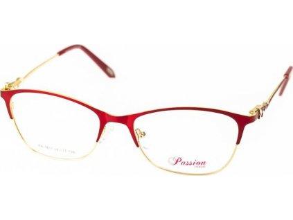 Passion 1817-C2 červená/zlatá