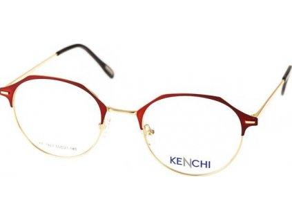 Kenchi 1923-C1 červená/zlatá