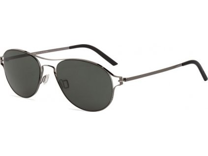 Minima Contour Sun K9-343A, Shiny Gun (AP-gray flash silver Polarized)