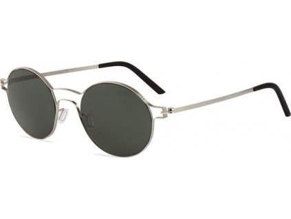 Minima Contour Sun K5-034A, Metal Brushed (AP-Gray/Flash Silver Polarized)