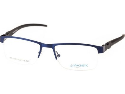 Magnetic 1909-C3 tm.modrá/černá vč. 1 pár výměnných stranic (modrá)