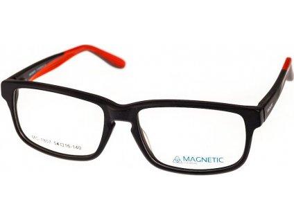 Magnetic 1807-C1 černá/červená